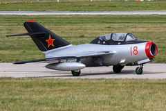 WSK-PZL-Mielec MiG-15UTI | Norwegian Air Force Historical Squadron (James Hancock Photography) Tags: photography photo display aircraft aviation air photojournalism airshow planes jersey 2019 jiad jet