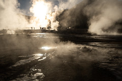 Smoke Curtain (MrBlackSun) Tags: atacama atacamadesert sunrise smoke vapour damp fumes geyser geysers eltatiogeysers eltatio nikon d850 landscape chile landscapephotography