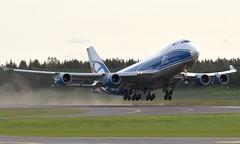 CargoLogicAir G-CLBA, OSL ENGM Gardermoen (Inger Bjørndal Foss) Tags: gclba cargologicair boeing 747 cargo osl engm gardermoen