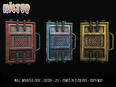 HILTED - Wall Mounted Case (HILTED) Tags: hilted men jail tmj cyber panel cyberpunk scifi decor wall home garden event