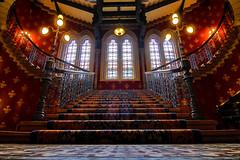 Renaissance Stairs (B.B.H.70) Tags: stpancrasrenaissancelondonhotel stpancras renaissancehotel london londres inglaterra kingscross england reinounido unitedkingdom stairs escaleras staircase grand