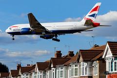 G-YMMP | British Airways | Boeing 777-236(ER) | LHR/EGLL (Tushka154) Tags: 777200 777 spotter britishairways london gymmp 777236er boeing heathrow unitedkingdom aircraft airplane avgeek aviation aviationphotography boeing777 boeingtripleseven planespotter planespotting spotting tripleseven uk