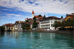 Thun #3 (seeneasy) Tags: lago lake thun svizzera swiss switzerland canon canon5dmarkii cityscape see cielo sky landscape natura nature estate summer agosto august canonef1635f4lisusm seeneasy
