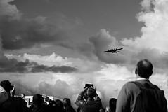 Antwerp 75yFree - Bomber B17 (mauriceweststrate) Tags: antwerp antwerpen zwartwit zwartenwit blackandwhite lx100 leica bommenwerper bommewerper bevrijdingsfestival bevrijding 57jaar belgie belgium liberationofantwerp commemoration me memorial 75yearsfree aircraft antwerpen75jaarvrij b17 flyingfortress bomber blackwhite clouds cloudscape wolken wolkenlucht