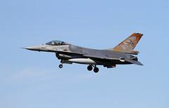 """""""Rusty"""" Belgian Airforce F16-AM FA-116 lands at Kleine Brogel (Paul-760) Tags: f16 kleine brogel keebee belgian air force"""