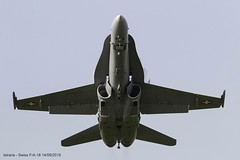 F/A-18 J5005 (Francesco Bonaldo) Tags: fa18 swiss war fighter plane