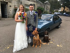 Photo of David and Lorna's wedding