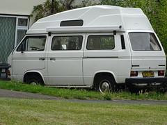 1986 Volkswagen Transporter Camper Van (Neil's classics) Tags: 1986 volkswagen transporter camper van t3 t25 vw camping motorhome autosleeper motorcaravan rv caravanette kombi mobilehome dormobile