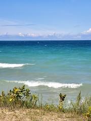 Lake Michigan Blues (Neil Noland) Tags: michigan mackinawcity lakemichigan