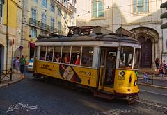 SAX_8092 (Vladimir Lazarov) Tags: lisbon portugal train yellow city