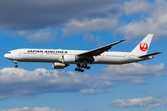 JA742J | Japan Airlines | Boeing 777-346(ER) | LHR/EGLL (Tushka154) Tags: boeing ja742j spotter japanairlines london 777346er 777 unitedkingdom heathrow 777300 aircraft airplane avgeek aviation aviationphotography boeing777 boeingtripleseven planespotter planespotting spotting tripleseven uk