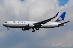 N684UA | United Airlines | Boeing 767-3CB(ER) | LHR/EGLL (Tushka154) Tags: boeing unitedkingdom spotter london 7673cber unitedairlines 767300 767 heathrow n684ua aircraft airplane avgeek aviation aviationphotography boeing767 planespotter planespotting spotting uk