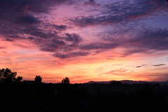 under the magic sky (afafa02) Tags: sunset evening vosges alsace france magic sky clouds colorful rainbow