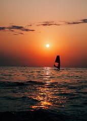 At sea (Alexx053) Tags: sunlights sea sunset em10iii olympus