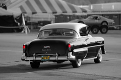 Firme OG (Pomona Swap Meet) Tags: pomonafavorites pomonaswapmeet carshowphotography classiccars colorsplash taillights chevrolet powerglide chevybelair classic