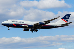 "G-BNLY | British Airways (""Landor (1984-1997) retro"" livery) | Boeing 747-436 | LHR/EGLL (Tushka154) Tags: boeing unitedkingdom spotter britishairways london gbnly 747 747436 landor 747400 heathrow specialscheme aircraft airplane avgeek aviation aviationphotography boeing747 jumbo jumbojet planespotter planespotting spotting uk"
