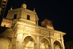 San Lorenzo (francosarcina) Tags: church nightshot milano chiesa sanlorenzo notturno night