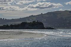 Dark Headland with a story (Ian@NZFlickr) Tags: purakaunui massacre 1750 otago nz mapoutahi utumaorirevengerevenge vengeance retaliation payback retribution cost price wage fee payment salary