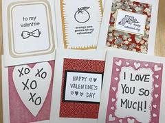 Valentines 2020 sneak peek (artnoose) Tags: samples orange romantic love butch bowtie linoblock letterpress deepinkletterpress wholesale cards card valentine valentines hearts heart red