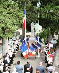"""Avant goût des #photos de la cérémonie du #BarSurLoup, en mémoire de Serge BRAM """"Mort pour la France"""" le 13 septembre 1939 à #Casablanca sur le #Pluton. Crédits photos J.-P. Poisson, Président du comité SF de #SaintCezaireSurSiagne. #MortPourLaFrance #MPL (Le Souvenir Français 06) Tags: barsurloup ww2 siagne casablanca pluton 2gm mplf mortpourlafrance partageonslamemoire france photos saintcezairesursiagne"""