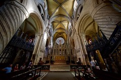 Inside Durham Cathedral (ickoonite) Tags: cathedral england anglican
