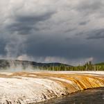Sorgente termale allo Yellowstone