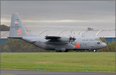 IMG_3898FL17 (Gerry McL) Tags: lockheed hercules c130 5 waterbomber firefighting aircraft airplane military united states air force reserve command usaf afrc 47315 prestwick scotland pik egpk