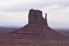 WEST MITTEN (SneakinDeacon) Tags: monumentvalley landscape redrocks rockformations navajonation scenicdrive bucketlist