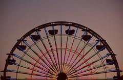 Dusk (remiklitsch) Tags: nikon ferriswheel santamonicapier rmiklitsch silhouette twilight dusk santanonica