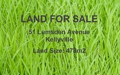 51 Lumsden Avenue, Kellyville NSW