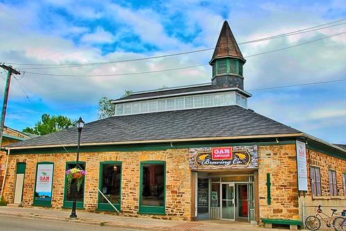 Gananoque Ontario - Canada - Brewing Company - Former Farmers Market