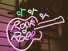Rock & Roll #neon #lights #colour #music #pink (MadelynBMedia) Tags: neon lights colour music pink