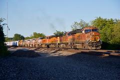H-KCKTUL3-13 (sd39u1556) Tags: bnsf kansas olathe summer es44t4 840cw dash8 train railroad railfan
