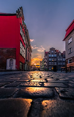 Gdansk (Vagelis Pikoulas) Tags: gdansk poland europe travel holidays perspective april spring 2019 view landscape city cityscape urban canon 6d tokina 1628mm sun sunset clouds