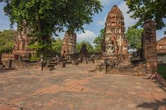 Ayutthaya IMG_0068 (flanaan) Tags: ayuthaya ayutthaya thailand ancient city ruins unesco world heritage site buddha buddhist temple pagoda paya wat