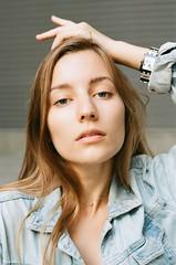 face (Dmitriy_Nushtaev) Tags: portrait girl film filmphotography 35mm 135mm nikon kodakcolorplus200 kodak kyiv ukraine europe
