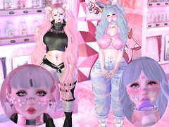 Sugar Critters Day Off~ (CandyCottonDreams) Tags: pink cute girl bottle candy sweet sl secondlife kawaii babydoll bear bunny milk moo sugar fantasy collar epic daria altair caboodle moonphase pityparty maitreya spookshow pukki aii halfdeer catwa s0ng popony momochuu vincue jesydream cakeinc enfersombre asteroidbox namiichu blog lotd fashion