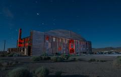 24 Storage (Nocturnal Kansas) Tags: night nocturnal moon full led1 protomachines d800 nikon nightphotography lightpainting longexposure hanger airplane ww2 wood airport