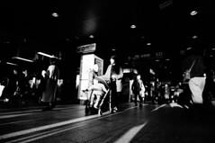 (ademilo) Tags: street streetphotography streetlight sunset sun sunlight sunshine shadows shadow light lights landscape city cityscape citylife contrast crowd construction highcontrast tokyo town townscape monochrome blackandwhite beautiful