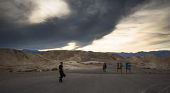 Zabriskie Point. Death Valley (sklachkov) Tags: deathvalley zabriskie zabriskiepoint zabriskipoint clouds cloudscape desert shadows shapes rocks