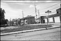 Indianapolis (icki) Tags: august2019 collegeavenue in indiana indianapolis blackandwhite nopeople