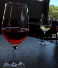 Wine Club (over.leaf) Tags: hotwife sexy tanktop denim shorts bra wine