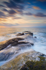 I've been losing you one day at a time (Luis Figuer) Tags: seascapelongexposure seascape sunset sea rocks playa real playareal guanacaste costarica bahiadelospiratas largaexposicion