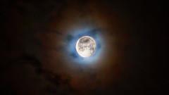Mond / moon (Chridage) Tags: mond moon himmel nacht luna lune wolken clouds night