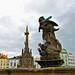 The Hercules Fountain and the Holy Trinity Column - Olomouc, Czech Republic