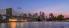 New York City Skyline Panorama Summer 2019 (Explored 9/18/2019) (fandarwin) Tags: new york city skyline panorama sunset summer 2019 jane carousel manhattan bridge darwin fan fandarwin olympus omd em10