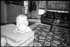Indianapolis (icki) Tags: august2019 deliamurrmann in indiana blackandwhite momshouse