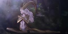 Oberon (Valenska Voljeti) Tags: secondlife sl eve horns faun oberon puck theark colivati forest creature nature fantasy