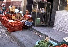 Tomato Vendor (vincenzooli) Tags: huehuetenango guatemala fujifilm provia nikon f6
