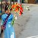 Myanmar Girl With Flower Bouquet, Kanpetlet